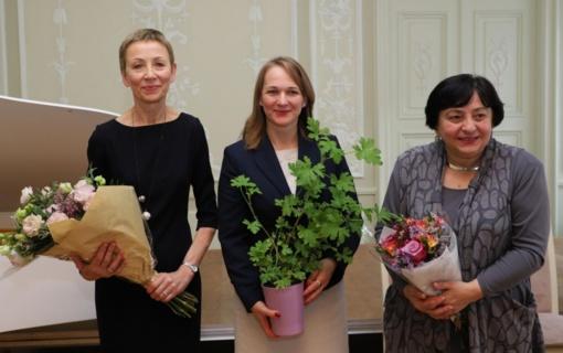 Kultūros ministerijoje įteiktos Šv. Jeronimo premijos