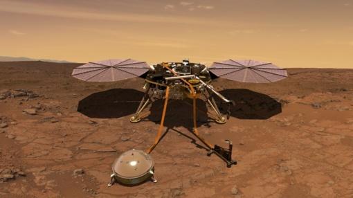 Marse zondas užfiksavo keistus planetos garsus (vaizdo įrašas)