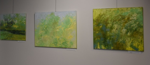 Varėnoje atidaryta Dianos Zviedrienės tapybos darbų paroda