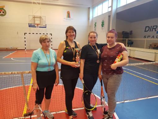 Prienų krašto sporto šventės teniso turnyre