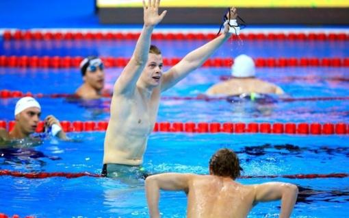 Plaukikas D. Rapšys Vengrijoje iškovojo antrąjį aukso medalį