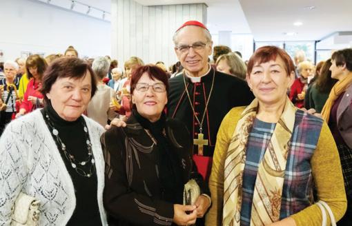 """Lazdijų dekanato savanorės dalyvavo Lietuvos ,,Carito"""" 30-mečio šventėje"""