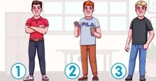 Dėmesingumo testas: kuris iš vaikinų yra turtingas?