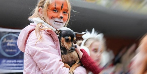 Šunims ir jų šeimininkams skirtą šventę taip pat aplankė katinai, vėžliukas ir žirgai