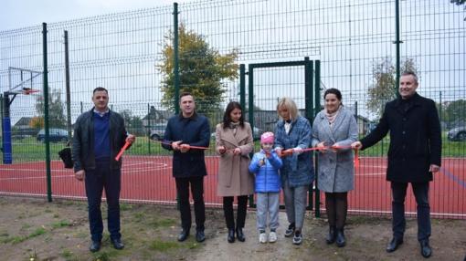 Jau penktas naujas sporto objektas šiemet Širvintų rajono kaimiškose vietovėse!