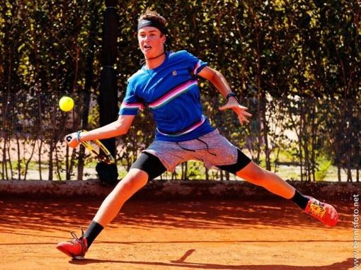 U16 Masters turnyre Lietuvos tenisininkai iškovojo dvi penktas vietas ir šeštą