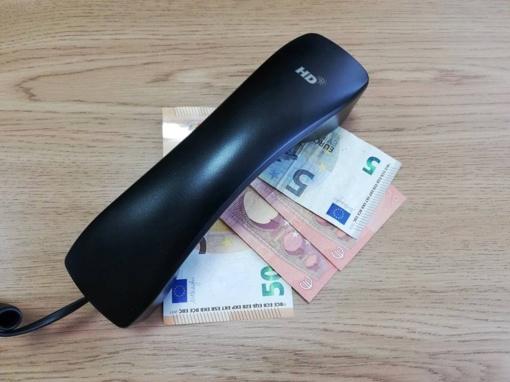 Milijono eurų dovana patikėjusi Anykščių rajono gyventoja sukčiams pervedė 582 eurus