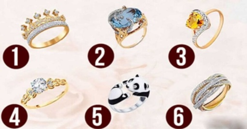 Išsirinkite žiedą ir sužinokite, kokia moteris esate iš tikrųjų!