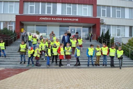 Savivaldybėje svečiavosi Mato Slančiausko progimnazijos moksleiviai