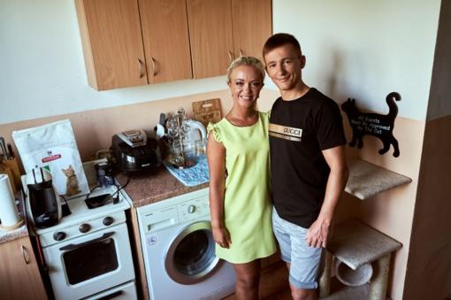 Neįtikėtina mažos virtuvės sename daugiabutyje transformacija