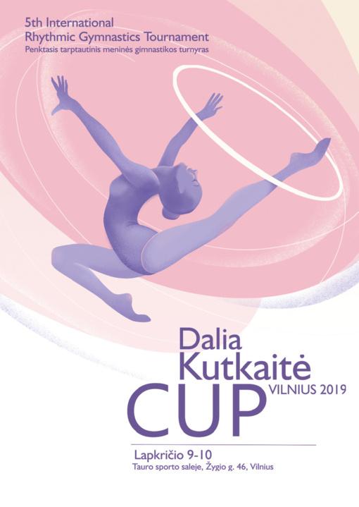 """Lapkritį Vilnių nuspalvins jau penktasis tarptautinis meninės gimnastikos turnyras """"Dalia Kutkaitė CUP'2019"""""""