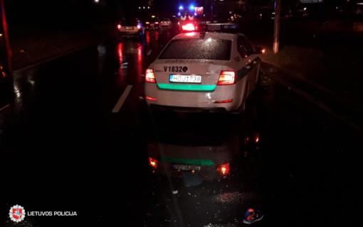 Praėjusią parą policija registravo 96 eismo įvykius: nukentėjo ir pėstieji, ir dviratininkai