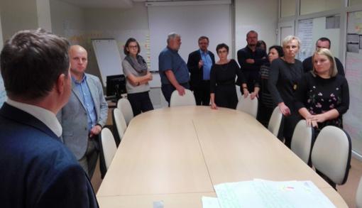 Administracijos darbuotojai patirties sėmėsi Sodroje