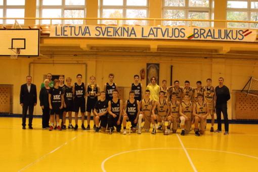 """Tarptautinis vaikinų krepšinio turnyras """"Simono Daukanto taurė 2019"""""""