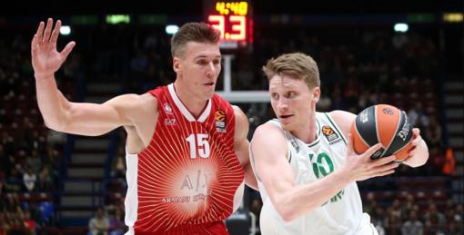 """""""Žalgirio"""" krepšininkai išvykoje pralaimėjo Milano komandai"""