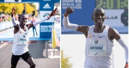 Kenijos bėgikas pirmasis įveikė maratono distanciją greičiau kaip per 2 valandas