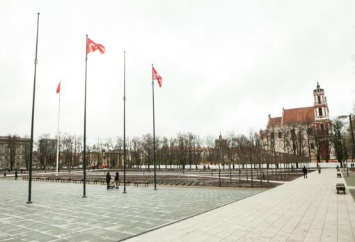 Lukiškių memorialui numatyti 0,5 mln. eurų bus išleisti komunaliniams mokesčiams