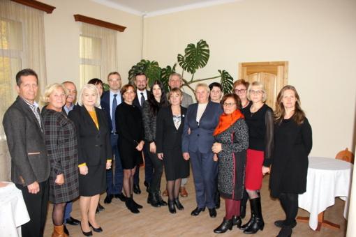 Kuršėnų vaikų globos namuose – diskusija su socialinės apsaugos ir darbo ministru Linu Kukuraičiu