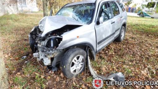 Policija patvirtino, kad V. Ušacko brolis avariją padarė būdamas neblaivus