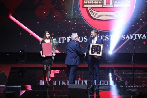 """Klaipėdai – """"Auksinės krivūlės"""" apdovanojimas"""