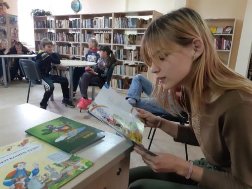 Turmanto bibliotekoje šventėme rašytojo jubiliejų