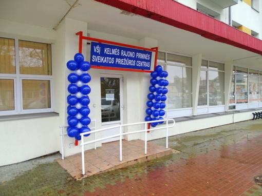Pirminės sveikatos priežiūros centras – naujose patalpose