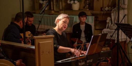 Vyko Vadžgirio sakralinės muzikos ansamblio 20-ies metų jubiliejinis koncertas