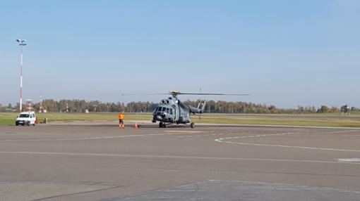 Kariškių sraigtasparnis donoro organus skraidino iš Latvijos