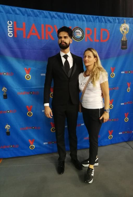 Elektrėniškė skynė laurus pasaulio plaukų stilistų čempionate
