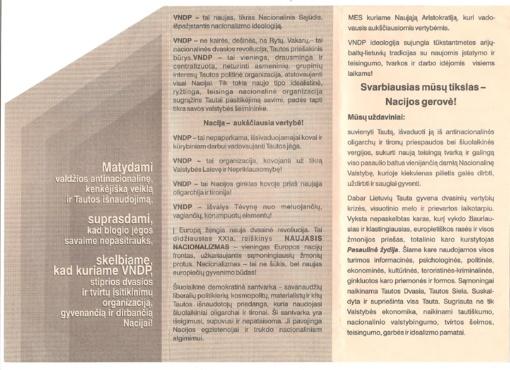 Partijų kūrimai trukdo Lietuvos klestėjimui