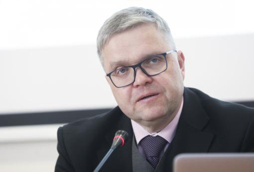 V. Vasiliauskas: lėčiausiai nuo krizės laikų augančiai pasaulio ekonomikai būtina skubi pagalba