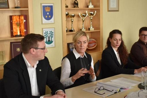 Sporto taryba aptarė laukiančius darbus ir iššūkius