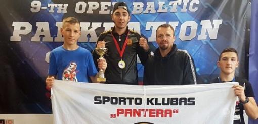 """Sporto klubas """"Pantera"""" iš Rygos grįžo su pergalėmis"""