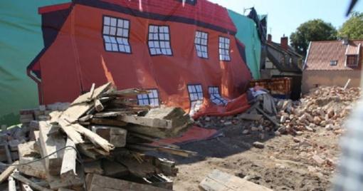 Saugomų pastatų griovėjams graso milžiniškais nuostoliais
