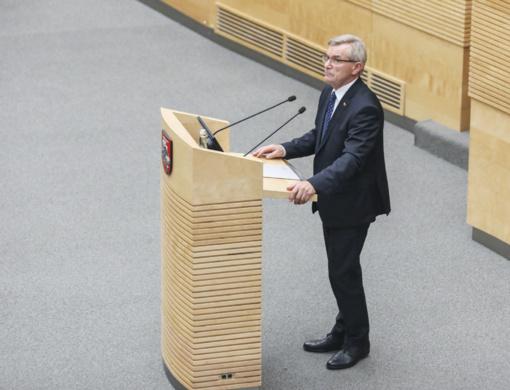 """""""Valstiečiai"""" skelbia nepasitikėjimą komisija, skaičiavusia balsus dėl nepasitikėjimo V. Pranckiečiu"""