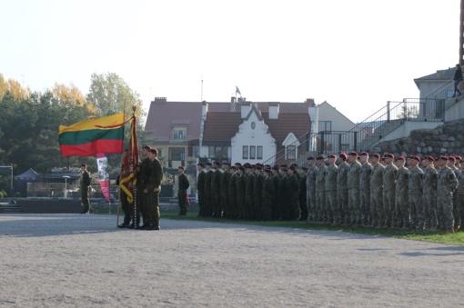 Sutikti iš tarptautinės operacijos Malyje grįžę Lietuvos kariai
