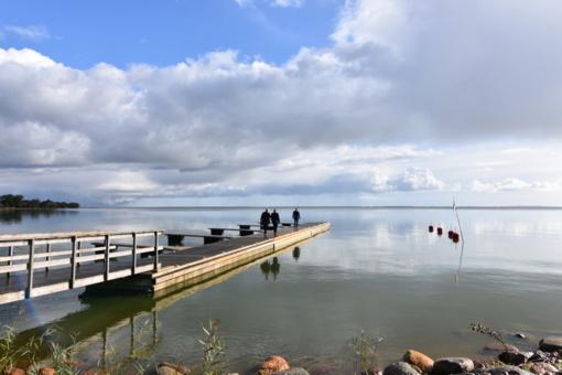 Preilos senajame žvejų uoste - naujovė