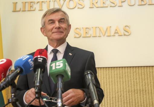 Seimas apsisprendė: kitą antradienį vyks pakartotinis balsavimas dėl V. Pranckiečio atleidimo