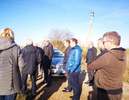 Su Lenkimų ūkininkais Savivaldybės vadovai aptarė žemės ūkio aktualijas