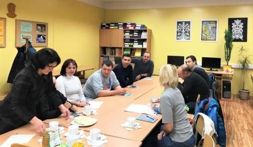 Tauragėje – lietuvių kalbos mokymai atvykėliams iš Ukrainos: tai padės jiems tvirčiau jaustis šalyje