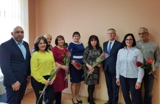 Naujai išrinktiems Seredžiaus seniūnijos seniūnaičiams įteikti pažymėjimai
