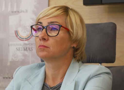J. Šiugždinienė: ambicijų karas neturėtų pažeisti vaikų interesų