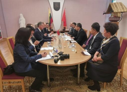 Rokiškyje – daug žadantis kinų vizitas