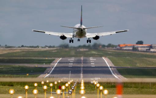 Orlaivių keliamam triukšmui mažinti – efektyvesnės priemonės