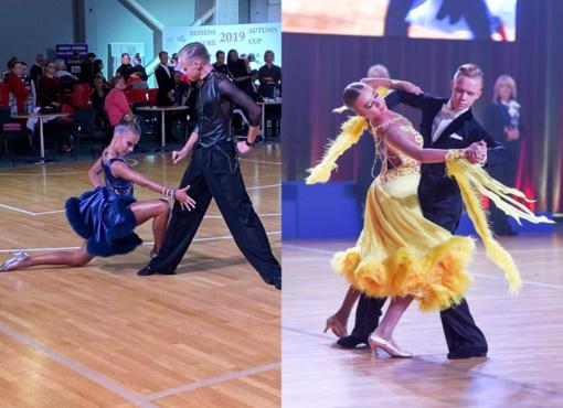 Ariogališkiai šauniai pradėjo naują sportinių šokių sezoną