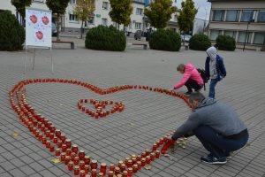 Degančios žvakutės – padėka organų donorams ir jų šeimoms