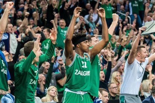 """""""Žalgirio"""" krepšininkai iškovojo pirmąją pergalę Eurolygoje"""