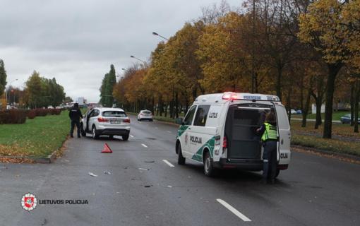 Girtas vairuotojas sukėlė avariją