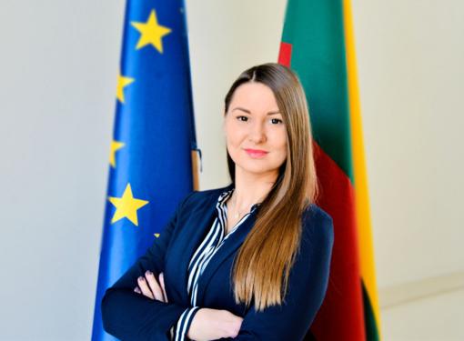 Vilniaus mero atstove spaudai dirbs I. Dirmaitė