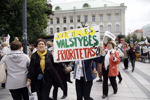 Pedagogų profesinė sąjunga skelbia streiką